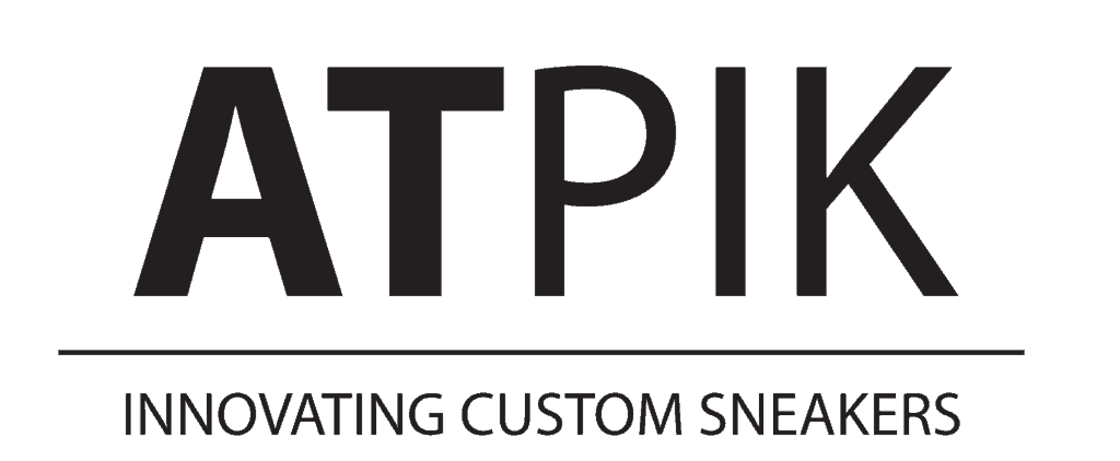 atpik innovating custom sneakers, atelier de customisation de sneakers en Belgique.