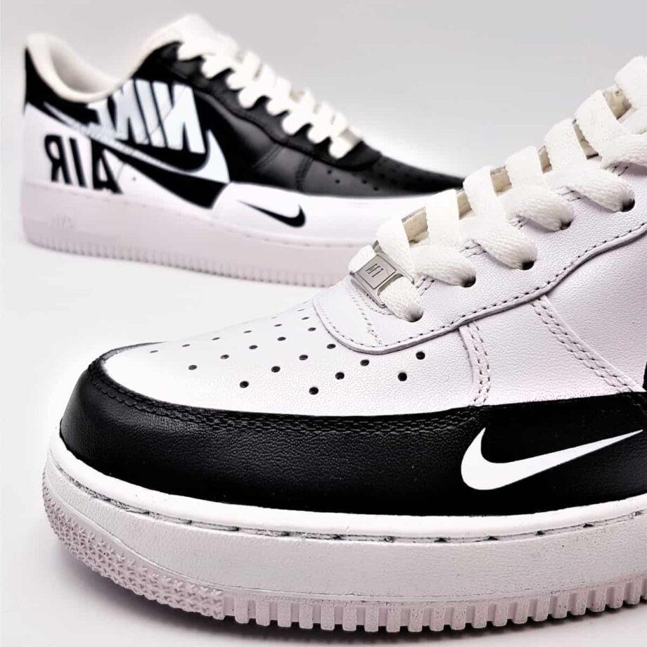 Ces nike air force 1 custom sont réalisées par Atpik custom sneakers, créateur de sneakes customisées.