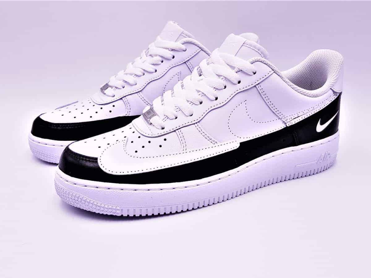 two tone nike air force ones