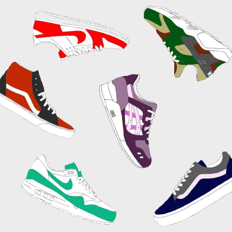 Commandez une paire de sneakers custom sur mesure chez ATPIK custom sneakers