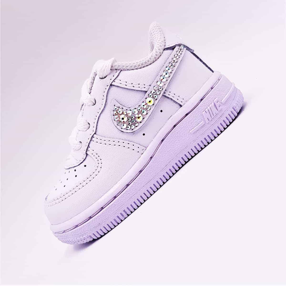 Nike Air Force 1 Baby Swarovski Atpik Custom Sneakers