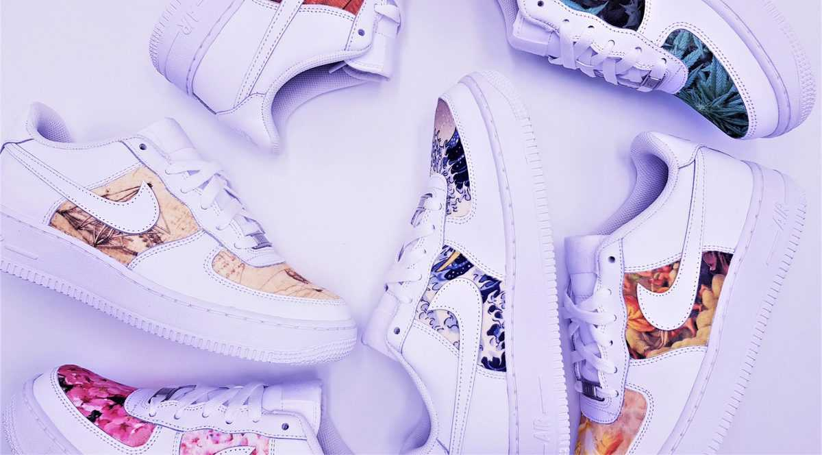 Les Nike Air Force 1 Custom d'ATPIK Custom Sneakers. Des paires de Nike Air Force 1 customisées pour un style unique.